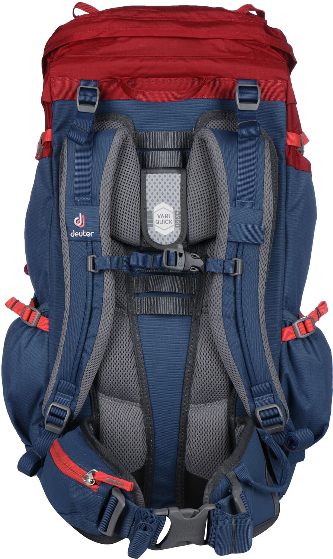 ebf5dc70 Deuter Fox 40 Backpack Kinder cranberry-steel | campz.de